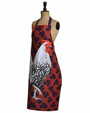 Rooster Chicken Hen Design Cooks Apron modern art poultry farming  Gift Cotton