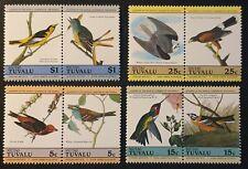 DUZIK: Tuvalu(Niutao) 1985 Birds Audubon anniversary MNH (No164)**