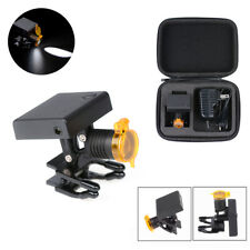 3W Dental LED Wireless Headlight with Optical Filter for Medical Binocular Loupe