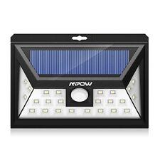 Mpow 24 LED Foco Solar con Sensor de Angulo Ancho, Focos LED Exterior