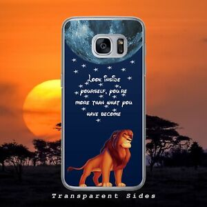 DISNEY LION KING LOOK INSIDE HARD PHONE CASE COVER FOR IPHONE SAMSUNG HUAWEI