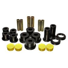 Energy Suspension Leaf Spring Bushing 3.2142G; Black Polyurethane  Rear