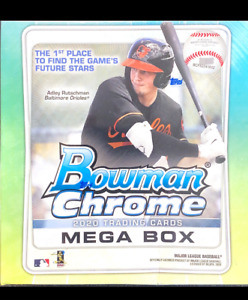 Bowman Chrome Mega Box Sealed Unopened Quantities