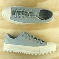 Converse Chuck Taylor All Star Low Top Lift Ripple Ox Platform Grey 559862C Size