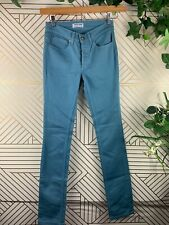 American Apparel Men The Skinny Jeans Size 28 Blue