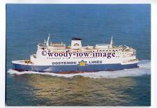 FE1960 - Oostende Lines Ferry - Prins Albert - postcard