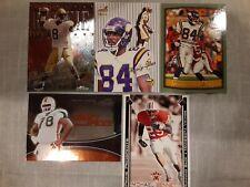 Minnesota Vikings Rookie Card Lot.  Dante Culpepper Randy Moss Bryant McKinnie