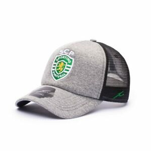 SPORTING FC MESH GRAYLINE TRUCKER  HAT Fi COLLECTION FREE SHIPPING CANADA