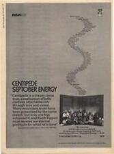 Centipede Robert Wyatt Bob Fripp Mike Patto LP advert Time Out cutting 1971