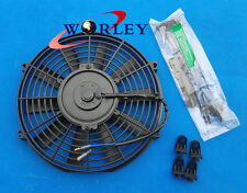 """10"""" 12V Slim Radiator Cooling Thermo Fan & Mounting kit universal electric fan"""