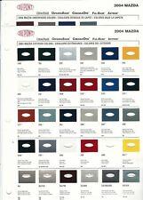 2004 AND 2005 MAZDA 3 TRUCK PROTEGE MIATA MPV TRIBUTE RX8 PAINT CHIPS