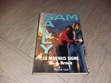 SAM SALY N°26 LE MAUVAIS SIGNE  / M.G.BRAUN
