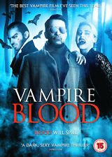 VAMPIRE BLOOD MIKE DOYLE ESTELLA WARREN HIGH FLIERS UK 2016 DVD NEW & SEALED