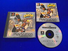 ps1 CRASH BANDICOOT 3 Warped PLAT Playstation Game Boxed COMPLETE PAL ps2 ps3