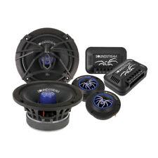 """Soundstream SM.650PROC 250 Watt 6.5"""" PRO Audio Component Speakers Tweeters 6-1/2"""