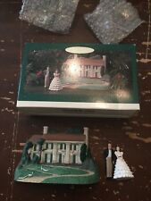Hallmark 1996 Scarlett O'Hara Rhett Butler Gone With The Wind Miniature Ornament