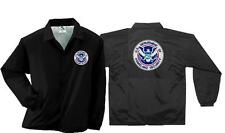 Homeland Security Embroidered Windbreaker / Coaches Jacket for FEMA CERT Police