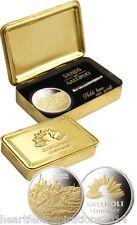Anzac Sands of Gallipoli Centenary Hold True Medallion