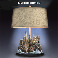 HARRY POTTER TABLE LAMP ILLUMINATED HOGWARTS CASTLE LIMITED EDITION COLLECTIBLE