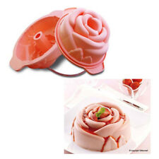 STAMPO SILICONE ROSA Ø18 X H 8 CM Cake Design Pasticceria Dolci Torte TORTA