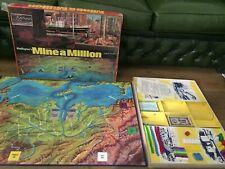 RARE MINE FOR MILLIONS VINTAGE 1970'S BOARD GAME + INSTRUCTIONS WADDINGTON'S J97