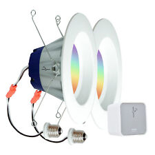 Sylvania Lightify by Osram Smart Home Starter Kit with 2 LED Lights and Gateway