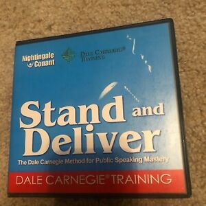 Stand and Deliver - Public Speaking - Dale Carnegie - 6 CD Audiobook Conant