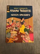Walt Disney Snow White And The Seven Dwarfs Rare Comic See My Others