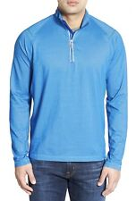 Tommy Bahama Double Eagle' Moisture Wicking Half Zip Pullover Size Large