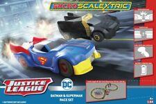 Scalextric G1151 Justice League Batman vs Superman Batt Powerd 1/64 Slot Car Set