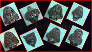 DOOM BAR STELLA ARMY BSA THATCHERS GUINNESS HARLEY Cast Iron Bottle Opener