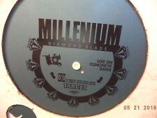 "NEW TARGET 26"" MILLENIUM WET/CURED CONCRETE-CUTTING DIAMOND BLADE, P/N 543762"