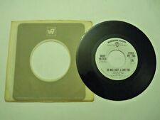 WLP BOBBY HATFIELD OO WEE BABY I LOVE YOU MONO/STEREO 45 1972 WARNER BROS 7566