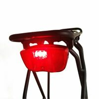 Bicycle Rear Lights Rack Carrier Leds Red Light Safety Warning Cycle Rear Lamp