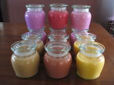 """12 x Large Honey Pot Scented Soy Wax Candles BULK BUY  $13.50 each  """"WHOLESALE"""""""