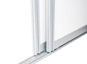 Schiebetürbausatz inkl. Aluminium Profilen, Rollen und Laufschienen | 2/3 Meter