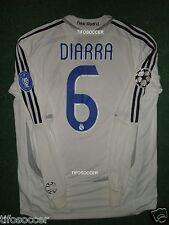 REAL MADRID DIARRA  2006-2007 CHAMPIONS LEAGUE MATCH WORN SHIRT