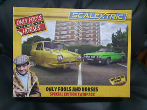 Scalextric C4179A Only Fools and Horses Special Edition twin pack