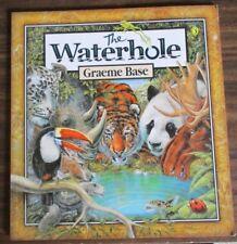 THE WATERHOLE BY GRAEME BASE (Paperback, 2012) LIKE NEW
