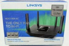 Linksys Max-Stream EA8300 Wireless AC2200 MU-MIMO Tri-Band Wi-Fi Gigabit Router