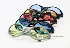 12 Pair Toddler Kids Sports Wrap Sunglasses Multi Color Lens 079 C