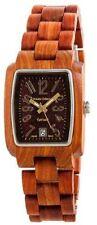 NEW Tense Wood Men's Solid Wooden Wrist Watches - Gold J8102SR