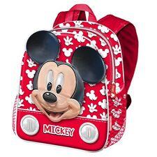 Topolino Mickey Mouse FUNNY in 3D zainetto Zaino Scuola Asilo Tempo Libero