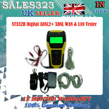 Tester digitale ADSL 2+ ADSL LAN & WAN linea rete metro Tester ST332B portatile