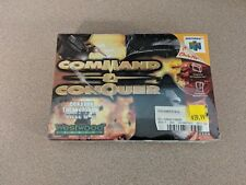 COMMAND & AND CONQUER NINTENDO 64 N64 BRAND NEW SEALED NR MINT!