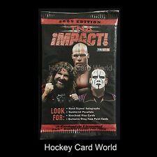 (HCW) 2009 Tri-Star Impact Licensed Wrestling Hobby Trading Cards Pack