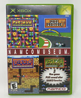 Namco Museum (Microsoft Xbox, 2002) Complete Tested Working