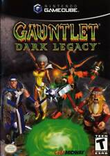 Gauntlet Dark Legacy Gamecube Great Condition Complete Fast Shipping