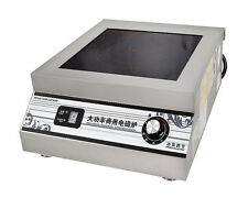 5000W Commercial Induction Cooker Flat Surface High Power Electric Cooker 220V