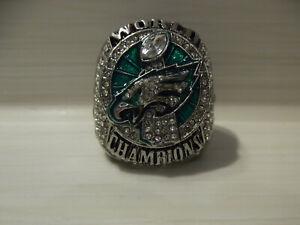 Superbowl Replika Ring LII Nick Foles 9 Philadelphia Eagles Super Bowl 52 NFL